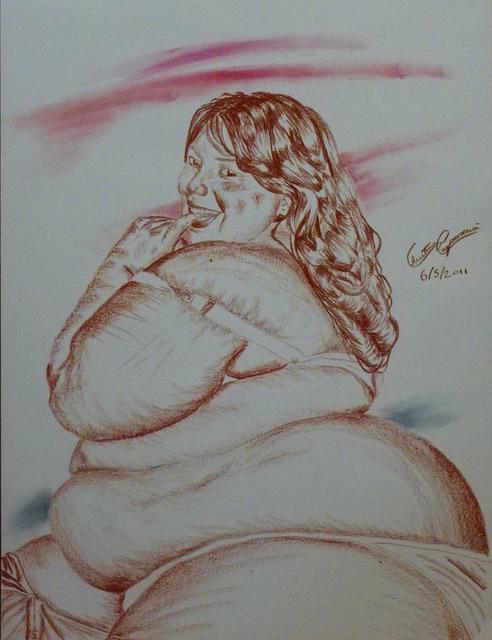 """Cupcakery"" by Christian Paparcuri Dicke Frauen Fetisch"